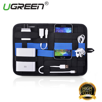 UGREEN Electronics Organizer with Tablet Pocket for Cosmetic/Digital Accessories - 280*209mm