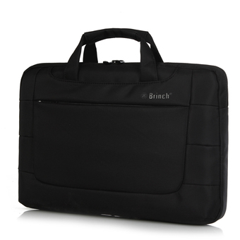 BRINCH Hot Laptop Bags Nylon Notebook Case Digital Storage Cover Handbag Business Causal Laptop Messenger 13 15 inch Free Shipping, 15 inch + Black (Intl)