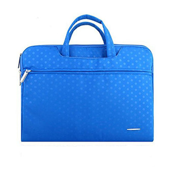 "Welink 15 inch Computer Bag Sleeve Carry Case Cover Notebook Tablet Briefcase Handbag Waterproof With Handle For Apple Macbook Air 15"" , Macbook Pro 15"" , Macbook Pro with Retina 15"" And Other Laptop / Notebook Computer (Blue)"