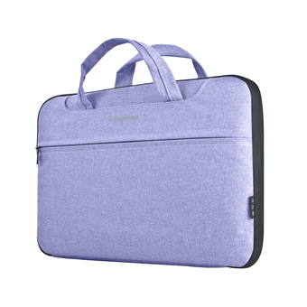 Genpezer 14 Inch Shockproof Waterproof Computer Shoulder Bag Pack Laptop/Notebook/Tablets/MacBook Messenger Bag Carry Case for Men Women,Portable Package (Purple) - Intl ร้านค้าดี ราคาถูกสุด - RanCaDee.com