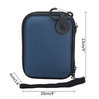 kobwa EVA Shockproof Carrying Travel Case Pouch for Portable External Hard Drive, External Battery and GPS Camera Pack Bag, Blue ร้านค้าดี ราคาถูกสุด - RanCaDee.com