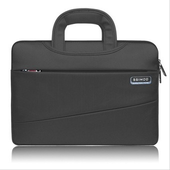 SSIMOO Laptop Shoulder Bag / Sleeve Briefcase, Carry Case for 11 Inch Notebook Computer / MacBook Air / MacBook Pro,Black (Intl) - Intl