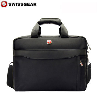 "New Brand SWISSGEAR Waterproof 14"" Laptop Portable Nylon bag Men and Women Laptop Messenger Business Bag JDB69 - Intl"""