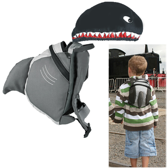 Animal Daypack Parent Safety Rein Strap Anti Wandered Off Lost Small Backpack Bag for Kids Children Shark Style