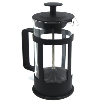 Fashion 1000ml J09 Stainless Steel Glass Cafetiere French Filter Coffee Press Plunger (Intl)