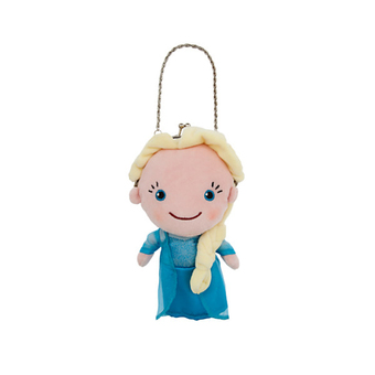 Disney Plush Purse Elsa - Frozen from Disney USA - Blue