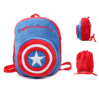 Cartoon Kindergarten Kids Backpack-American Captain
