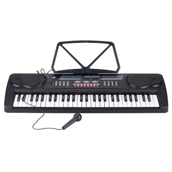 54 Keys Multifunctional Digital Electronic Music Keyboard ElectricPiano Organ with Sheet Music Holder Microphone - Intl - Intl