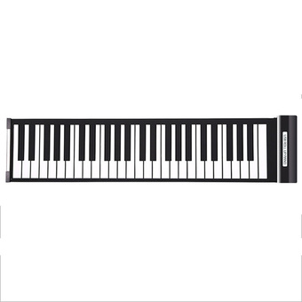 Portable Electronic Piano Flexible Roll Up Synthesizer Keyboard Piano (Intl)