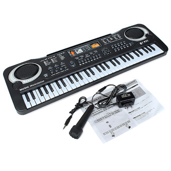 3pcs 61 Keys Digital Music Electronic Keyboard Key Board Gift Electric Piano Organ - Intl