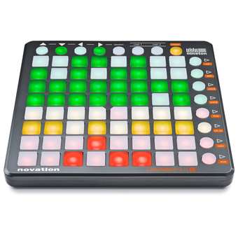 Novation Launchpad S 64-Button Ableton Controller for Performing and Producing Music with iPad, Mac and PC - Intl