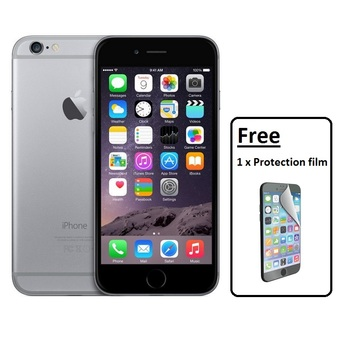 Apple iPhone 6 64GB (Space Gray) Free 1 x Protection film