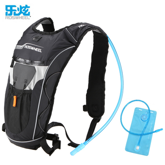 Roswheel 2L Straw Water Bag Backpack Men And Women Surperlaight Hiking Running Cycling Water Bladder Backpack Hydration Backpack - Intl