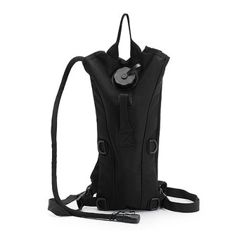 5L Waterproof Tactical Military Backpack Hydration Bladder Water Bag Pouch for Outdoor Hiking Climbing Black
