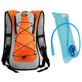 Hotoop Unisex Cycling Hiking Climbing Hydration Packs and Bladder (Orange0 (Intl)