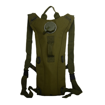 Tactical Military Outdoor Molle Water Bottle Pouch Bag 3L(Army Green)