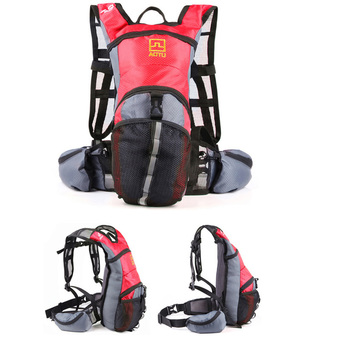 Cycling Bicycle Bike Sport Hiking Climbing Hydration BackpackRucksack Water Pack Bag Red