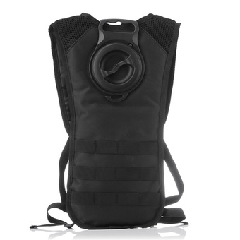 Outdoor Sport Tactical Hydration Backpack with 2.5L Water Bladder Hydration Packs(Black)