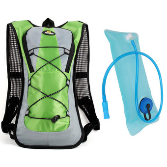 Hotoop Unisex Cycling Hiking Climbing Hydration Packs and Bladder (Green) (Intl)