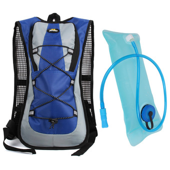 Hotoop Unisex Cycling Hiking Climbing Hydration Packs and Bladder (Blue) (Intl)