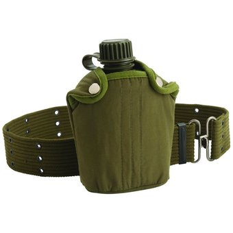Coleman Military Canteen With Cover & Belt outdoor adventure - Intl