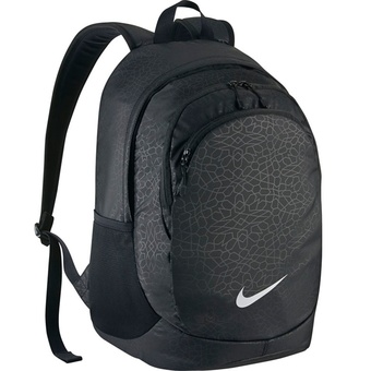 Nike กระเป๋าเป้ Nike Legend Backpack Print Womens Sports Bag รุ่น BA5207-011 (Black)