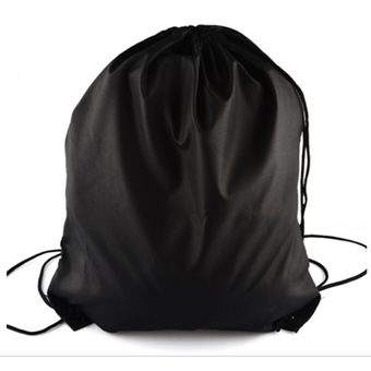 Outdoor Sports Polyester Drawstring Backpack Bag