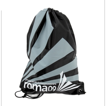 Swimming Drawstring Beach Bag Sport Gym Waterproof Backpack Duffle Black