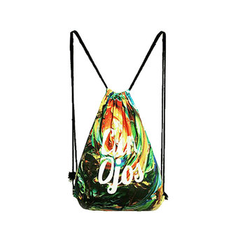 niceEshop Fashion Unisex Printing Polyester Drawstring Backpack Bags(Sunrise)