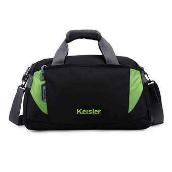 Sports bag travel tote waterproof luggage handbag shoulder bag bmc90220 geeen (Intl)