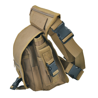 Multi-purpose Outdoor Drop Leg Utility Waist Pouch Carrier Thigh Bag Tactical Hunting Fanny Pack Travel