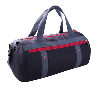 High quality sole all-in 3 isolation layer design swimming waterproof wet separation of men and women receive bag big capacity of the new gym bag (navy)