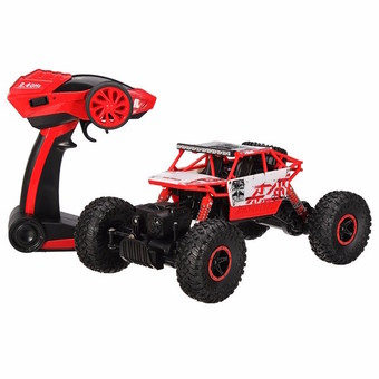 Hitech รถไต่หิน Scale 1:18 Rock Crawler 4WD 2.4ghz (RED)