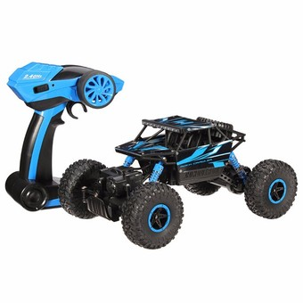 Hitech รถไต่หิน Scale 1:18 Rock Crawler 4WD 2.4ghz (Blue)