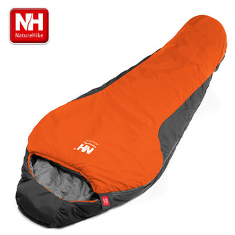 NatureHike Portable Multifuntional Ultralight Mini Nylon Mummy Shape Outdoor Camping Travel Hiking Sleeping Bag