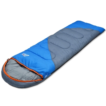 2 Seasons Spring&Summer Lightweight Ventilated Portable Outdoor Camping Envelope Insulated Sleeping Bag for Adult with Storage Bag