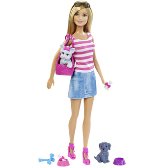 Barbie and Pets set
