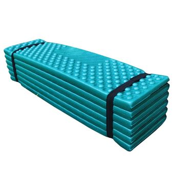Sunyoo-Convenient Folding Outdoor Picnic Camping Sleeping Mat Mattress Waterproof Pad Rest Cushion New(Green)