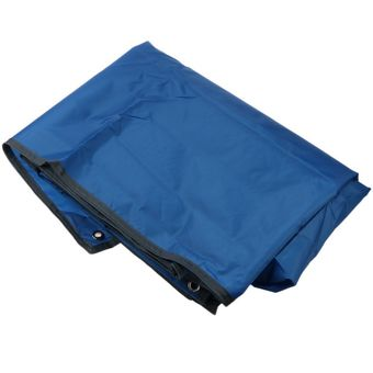 Sunyoo-Portable Oxford Fabric Tent Tarp Waterproof High Quality Rest Cushion Ground Cloth Mat Outdoors(Blue)