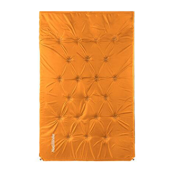 Allwin Outdoor double widen thicken Inflatable Camping Tent Blanket Sleeping Pad orange - Intl