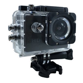 Ck Mobile Sport Action Camera 2.0 LCD Full HD 1080P No WiFi (สีดำ)""