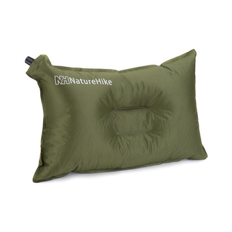 NatureHike Self-Inflating Compressible Travel Camping Air Pillow (Green)