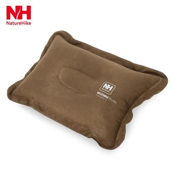 Naturehike Outdoor Inflatable Foldable Pillow(BROWN)