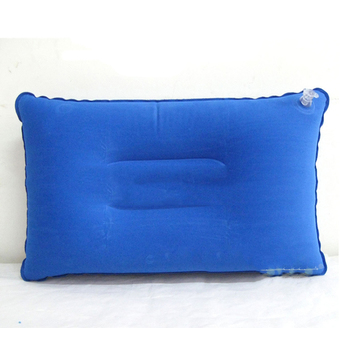 Jetting Buy Soft Air Pillow PVC Camping Head Rest Blue