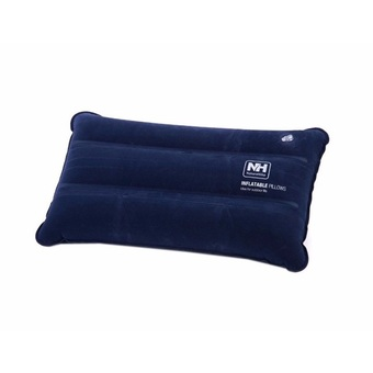 NatureHike Portable Ultralight Inflatable Compressible Travel Camping Air Pillow (Navy)