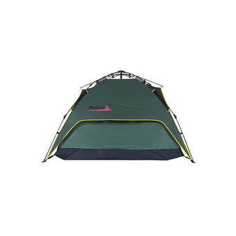 Makino Outdoor Easy Set-up 2-3 Person Double Layers Waterproof Tent with Rainfly Automatic Instant Tent for Camping 0087 Army Green