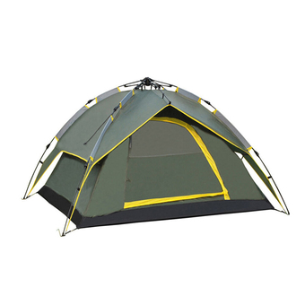 niceEshop Double Layer 2 Person Automatic Instant Tent for Camping Backpacking Hiking(Army Green)