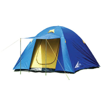 SPORTLAND Camping Tent Dome shaped for 4 persons รุ่น FRT-222-4 (Blue)