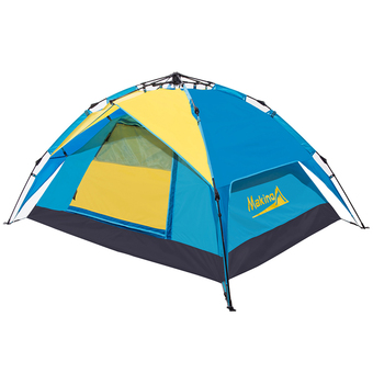 Makino Outdoor Automatic Camping Tent 2-3 Person 0048 Blue