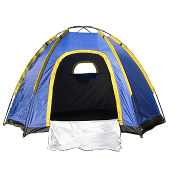 OH Waterproof Hexagonal Large Camping Hiking Pop up Tent Outdoor Base Camp